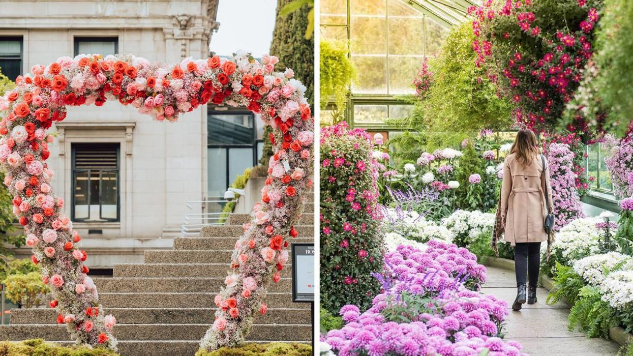 Niagara Falls Is Getting A Giant Flower Festival With Colourful Displays & Afternoon Tea