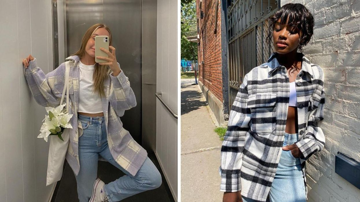 The Shacket Is A Must-Have For Fall 2021 & Here Are 9 You Can Get In Canada