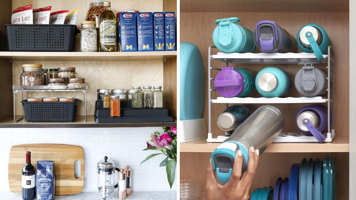 21 Kitchen Storage & Organization Products You Can Get On Amazon Canada To Sort Your Chaotic Space