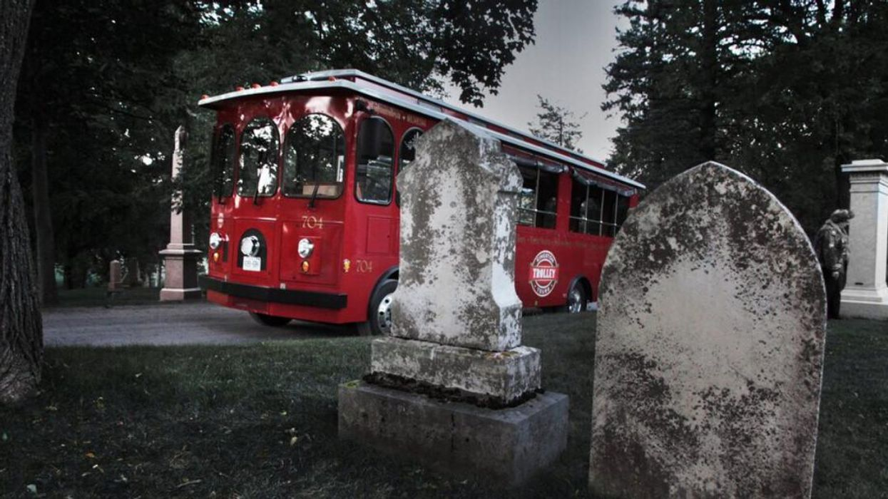 This Trolley Ghost Tour Takes You To Phantom-Filled Spots In Ontario & It's Truly Haunting