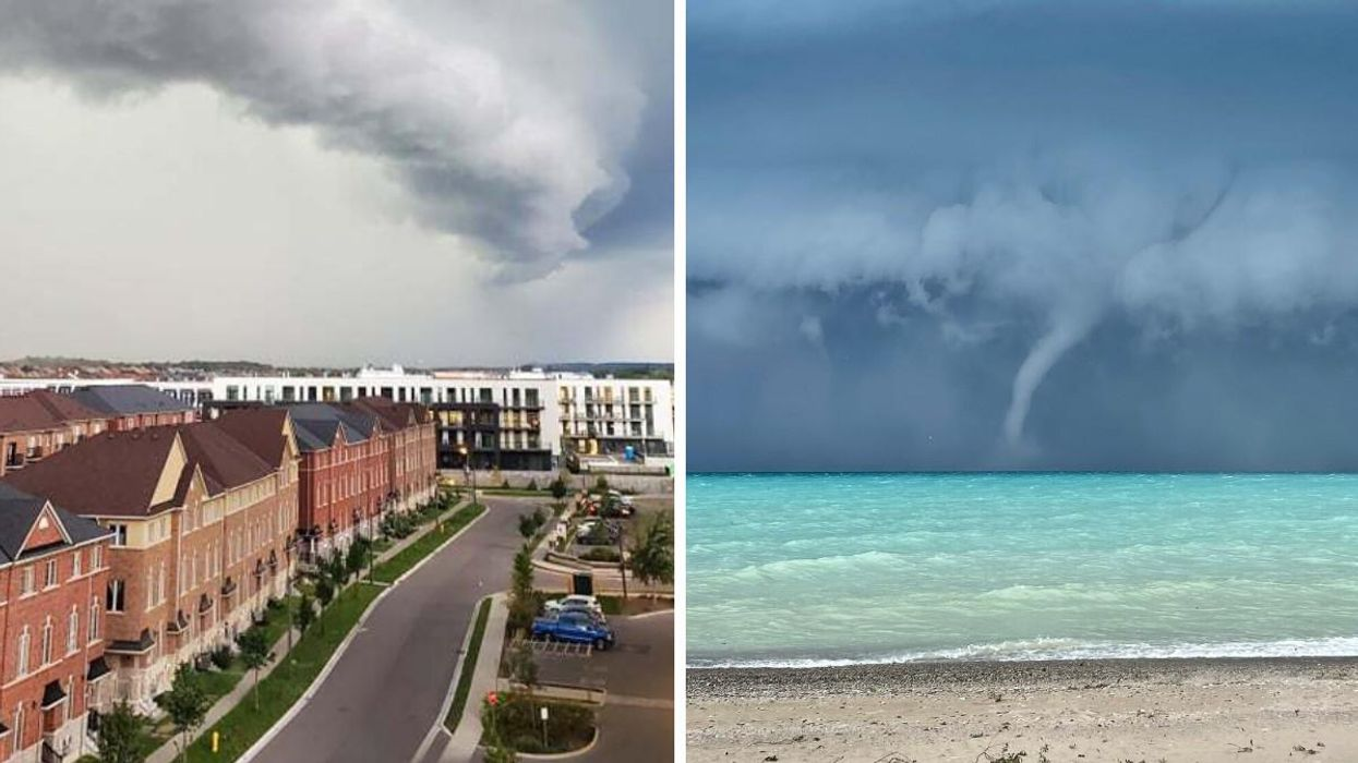 Wild Storms Are Rolling Through Ontario RN & The Videos Are Actually Unreal