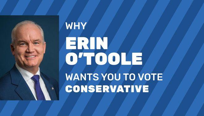 Conservative Leader Erin O'Toole