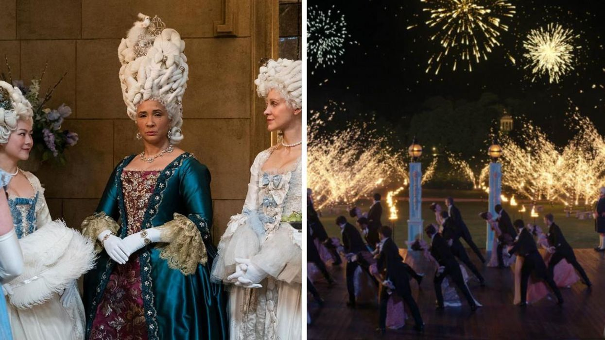 A 'Bridgerton' Ball Is Coming To Canada & It Sounds Dreamy AF