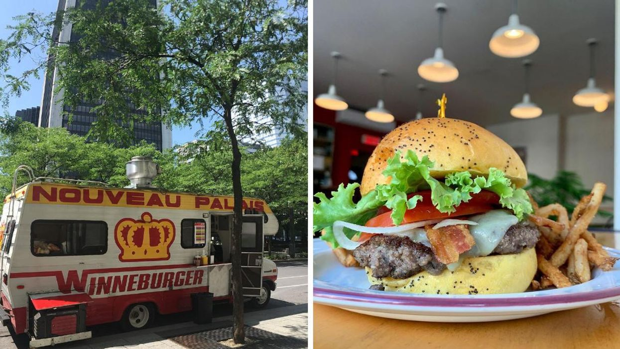 Winneburger offre des burgers gratuit samedi ce weekend au marché Jean-Talon