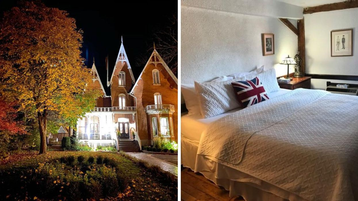 7 Haunted Places In Ontario Where You Can Spend The Night If You're Feeling Brave