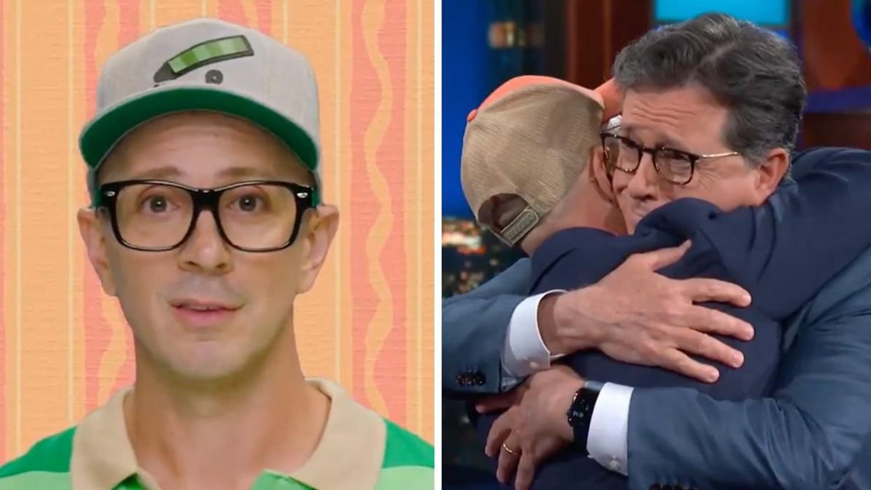 Steve From 'Blue's Clues' Has Returned & He's Even Making Talk Show Hosts Cry (VIDEO)