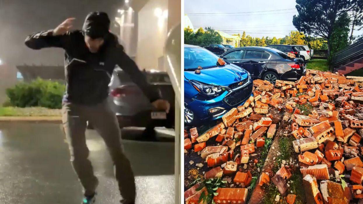 Hurricane Larry Hit Newfoundland Hard Overnight & Caused So Much Damage (VIDEOS)