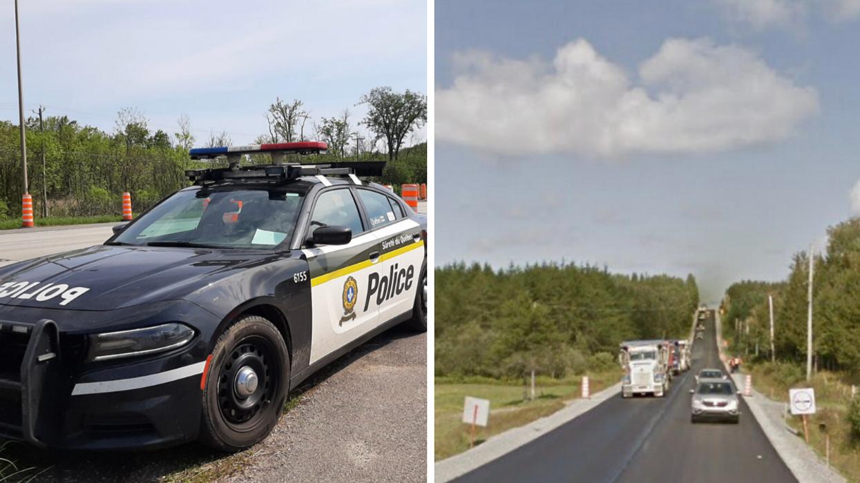 Fin de l'alerte AMBER : L'enquête de la SQ se poursuit à Sainte-Paule