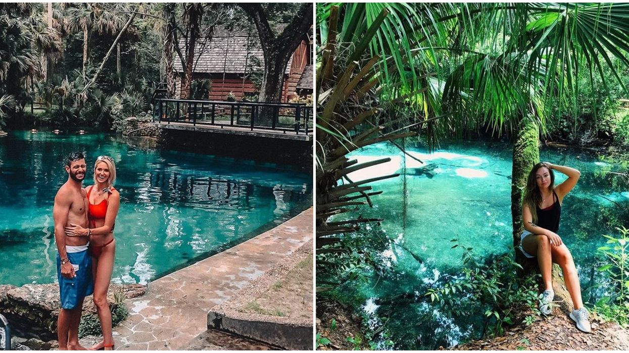 Florida Spring Ocala National Forest Juniper Springs Is A Turquoise Oasis