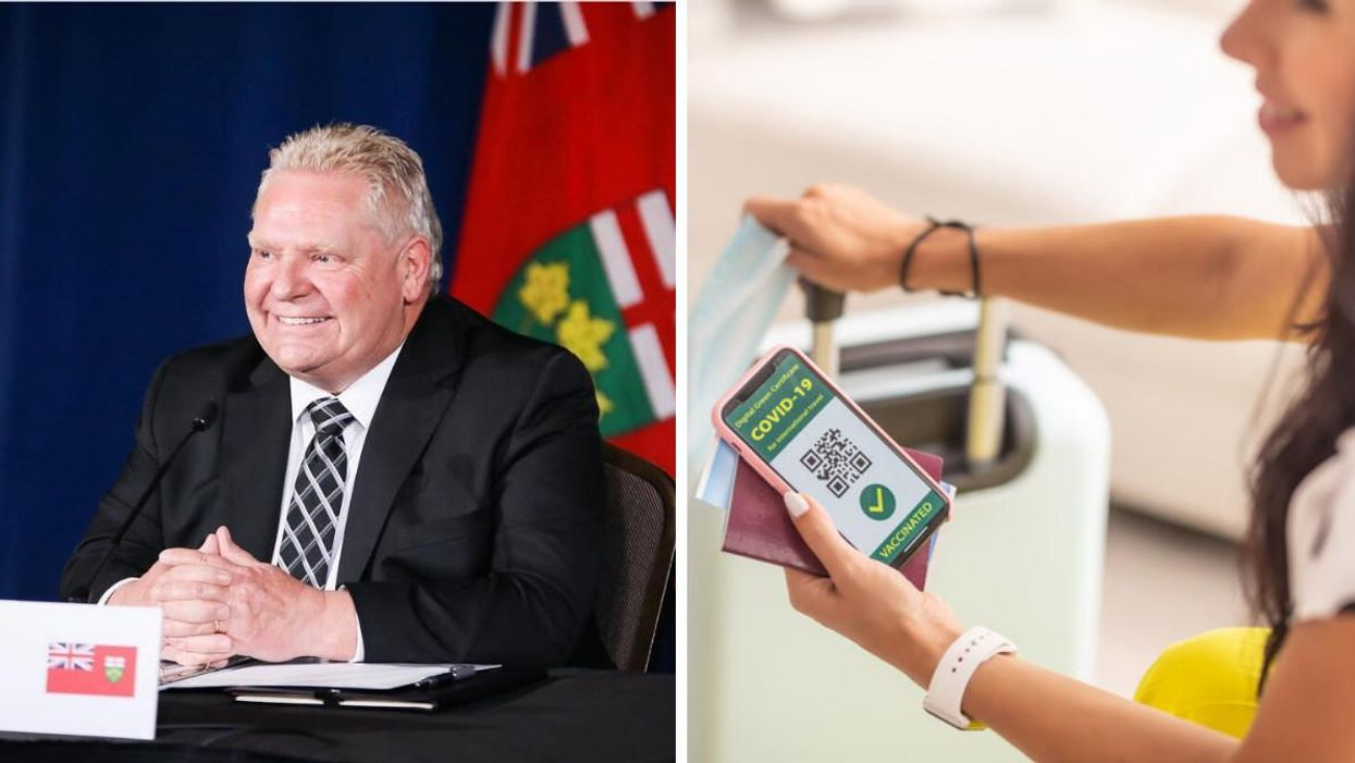 Ford 'Reluctant' Of Vaccine Certificates But Top Doc Says It Will Be In Place Until Spring