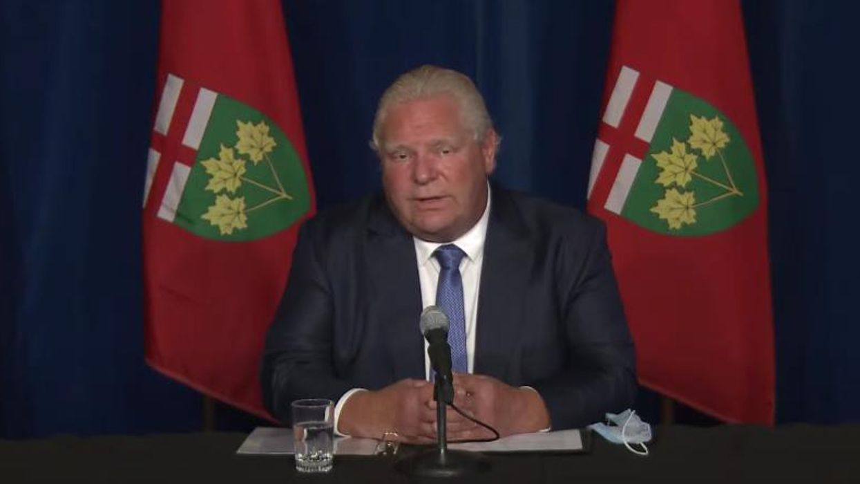 Ford Says Trudeau Made A Lot Of Promises To Ontarians & He's Going To Make Sure He Keeps Them