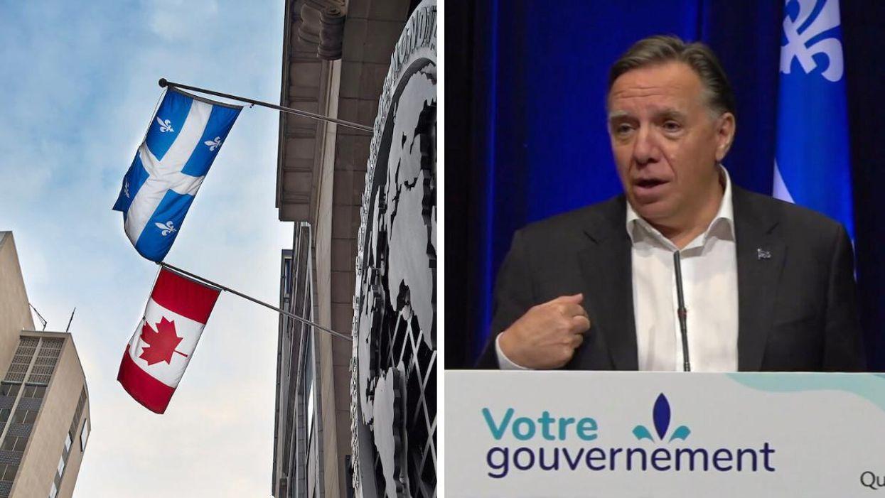 François Legault s'insurge contre une « attaque envers le Québec » lors du débat des chefs