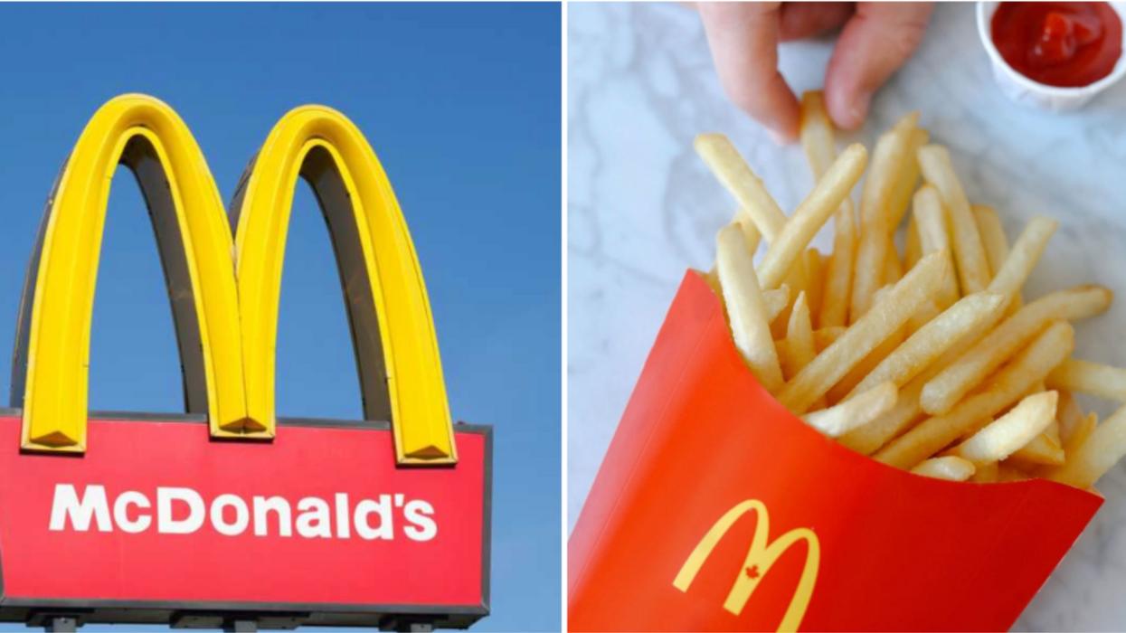Frites gratuites McDonalds
