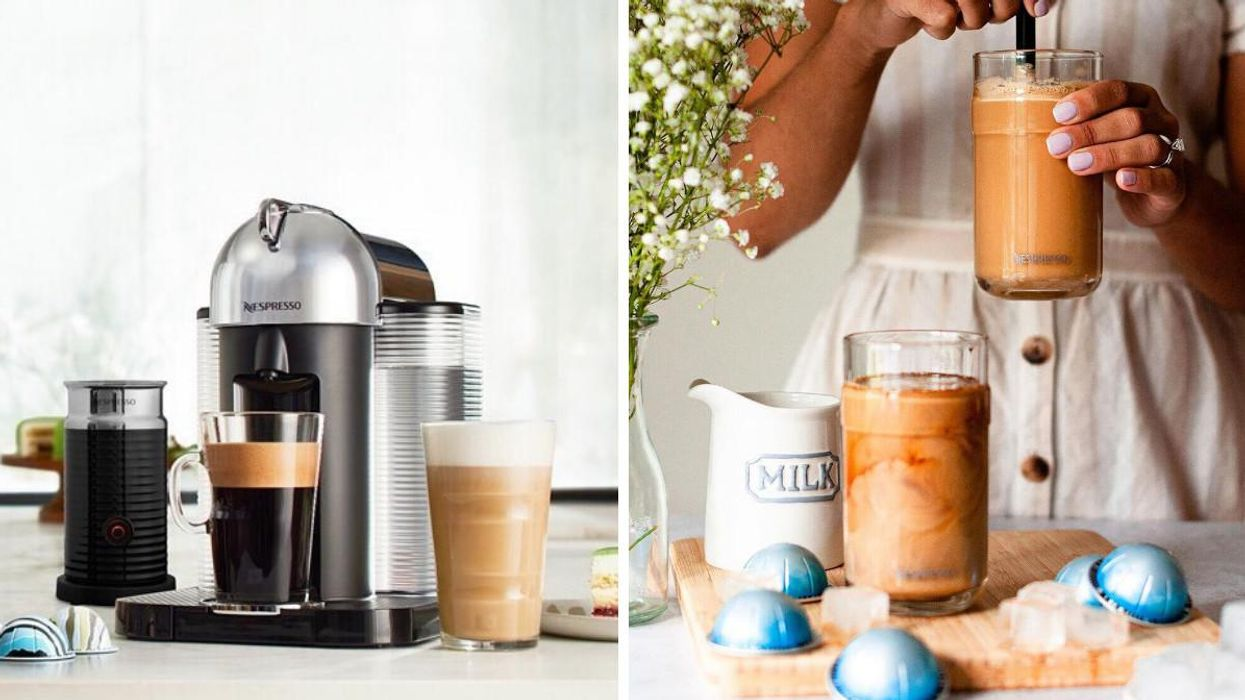 Get The Nespresso Vertuo Coffee Machine From Amazon Canada For 60% Off Right Now