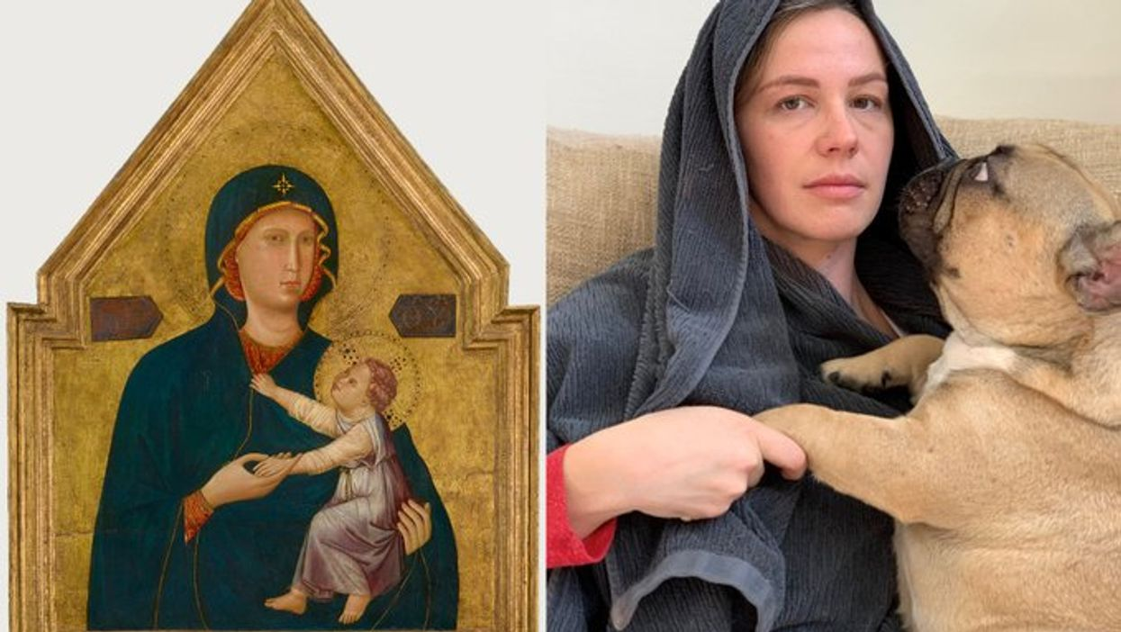 Getty Museum Challenge Has You Recreate Famous Art Using Random Household Objects