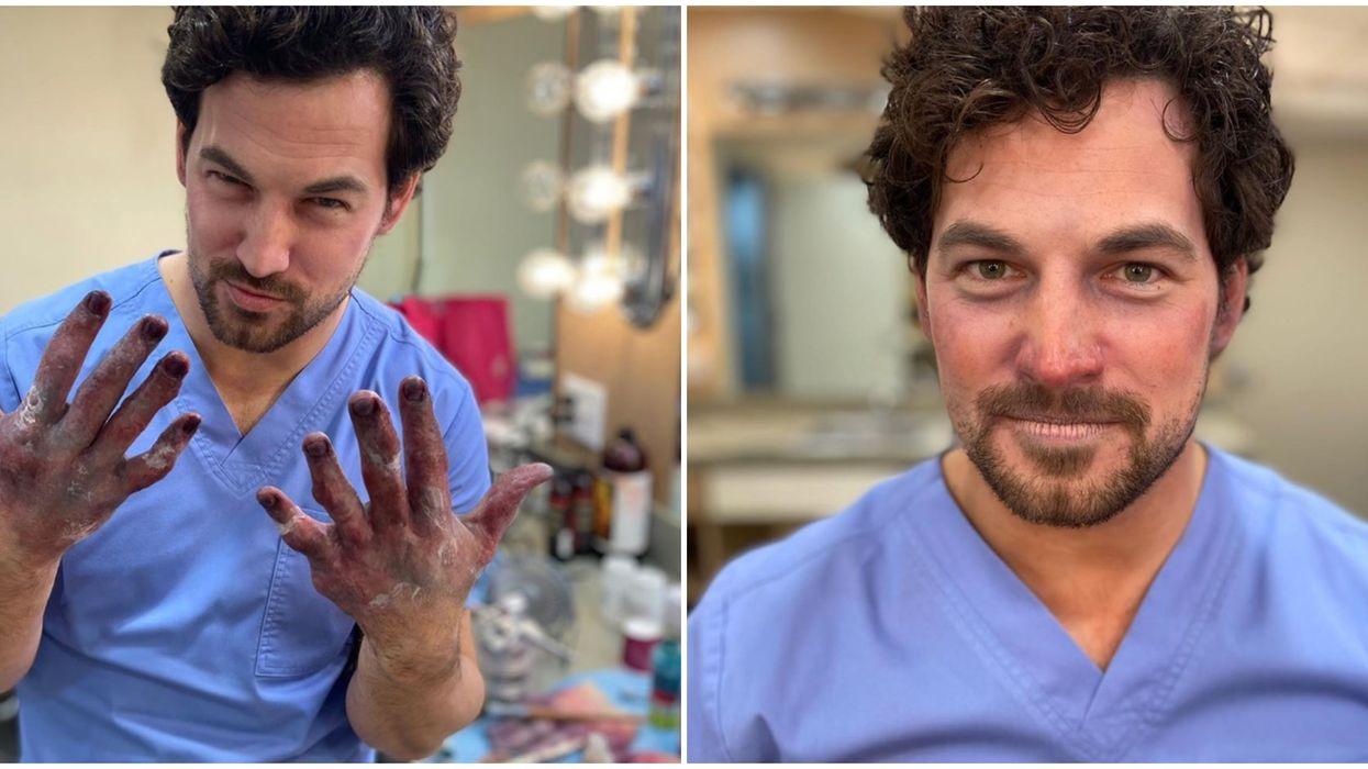 "Giacomo Gianniotti's ""Grey's Anatomy"" Character"