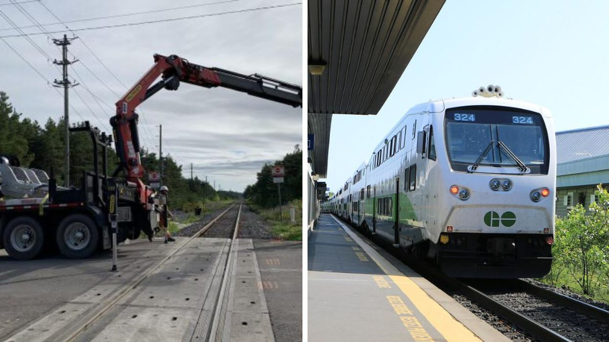 GO Train Rides Are About To Get A Whole Lot Faster On One Line Starting This Month