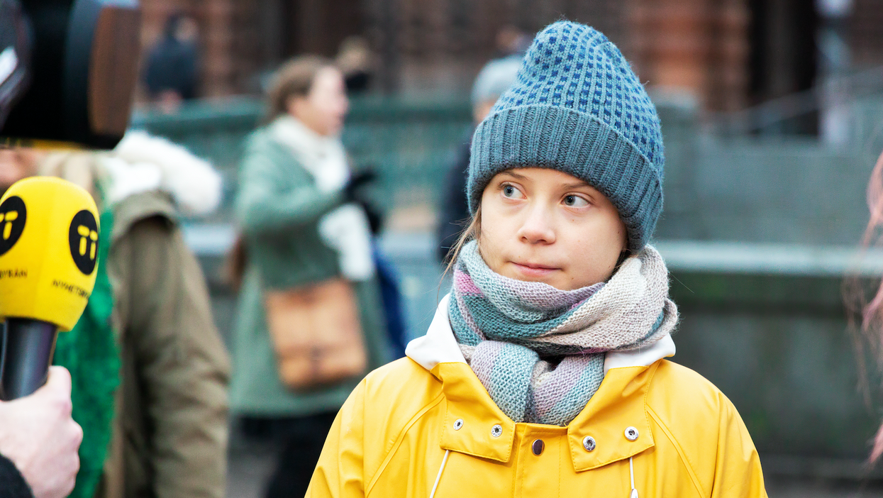 Greta Thunberg Sticker Prompts A Response From The Young Activist