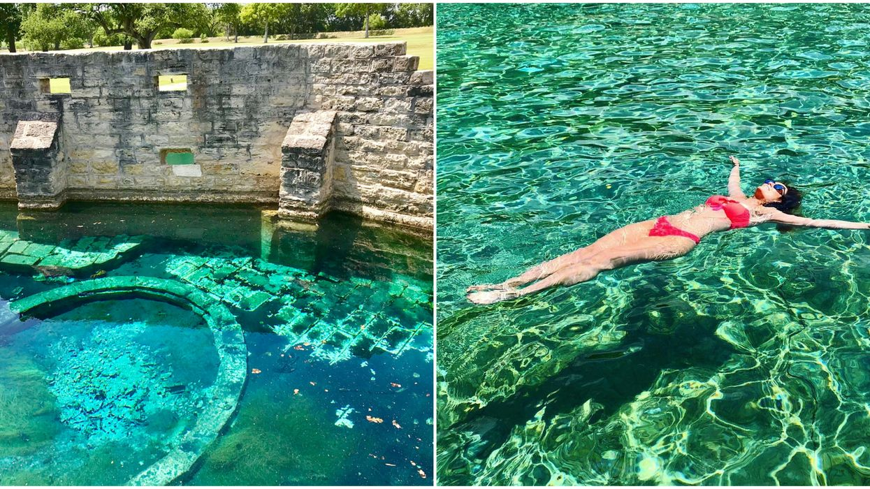 Hancock Springs Is One Of The Best Swimming Spots In Texas