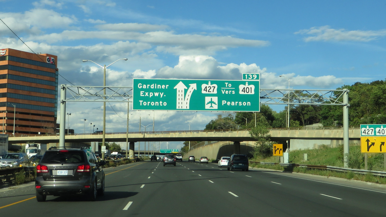 Highway 427 Is Expanding This Weekend & It Could Cut Your Travel Time By 25 Minutes