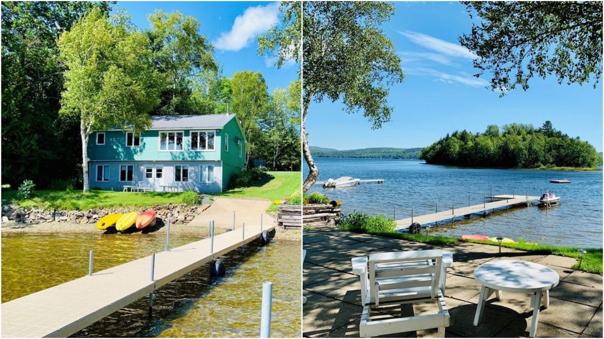 House For Sale In New Brunswick Has A Mini Private Beach & Costs Under $250K (PHOTOS)