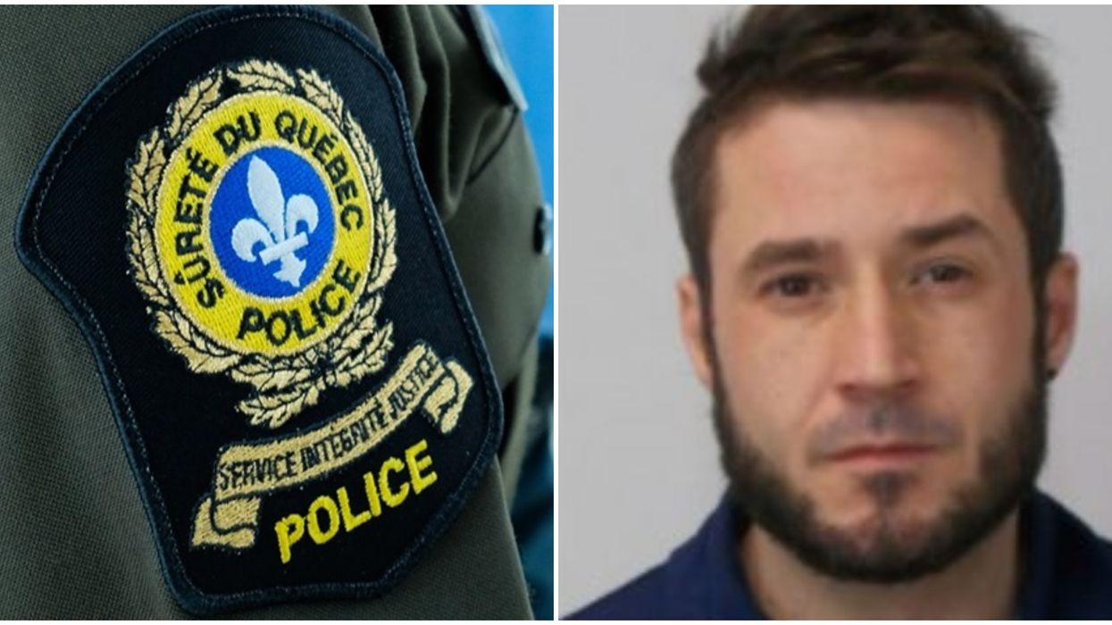 Hugo Tousignant est recherché par la SQ suite à une agression armée à Shawinigan