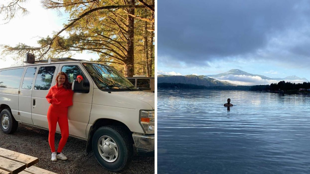I Explored Vancouver Island In A Camper Van & It Was The Perfect Fall Vacation