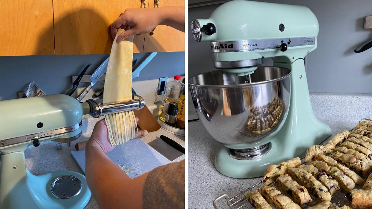 I Used This KitchenAid Stand Mixer To Make My Favourite Italian Foods & Here's My Honest Review