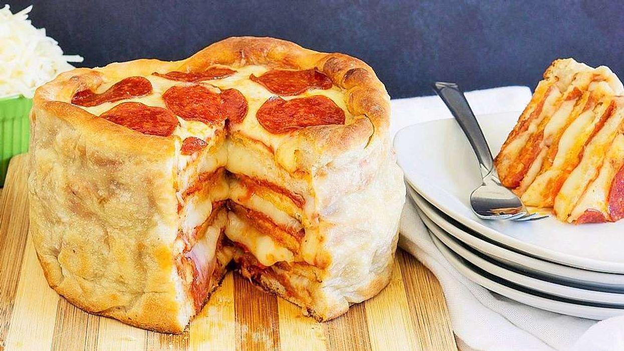 Le gâteau-pizza existe et tu dois absolument l'essayer!