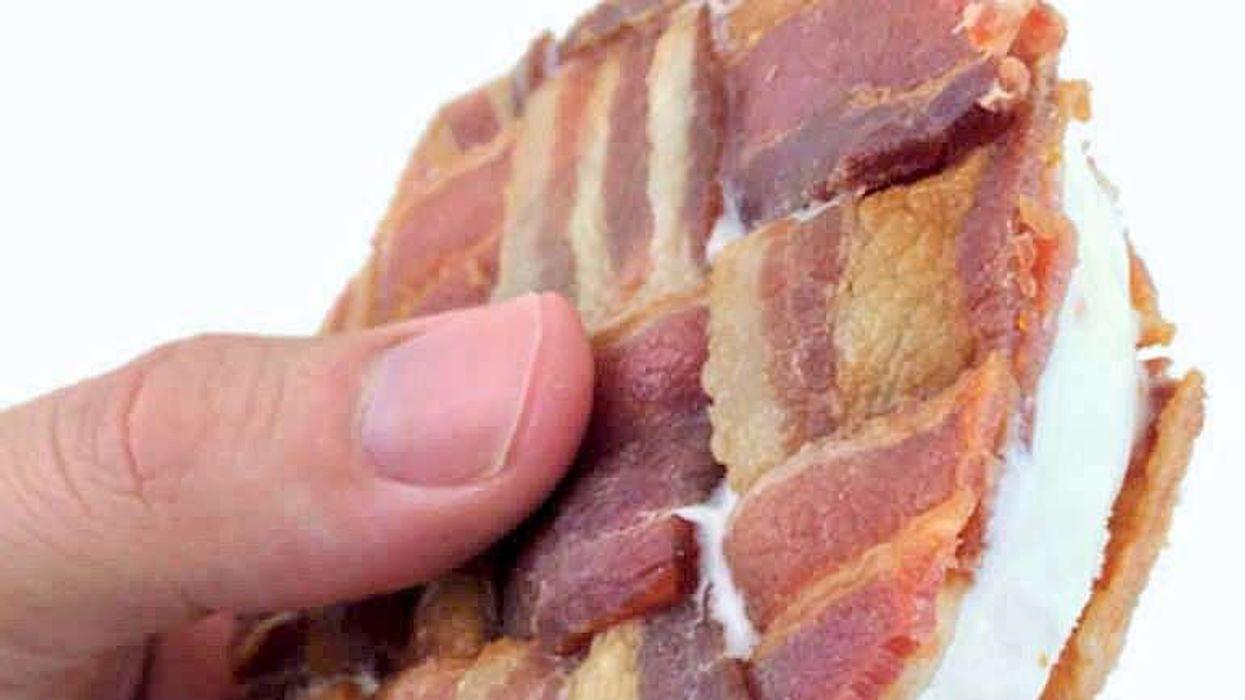 Voici le sandwich à la crème glacée et bacon que tu mourras d'envie de manger cet été