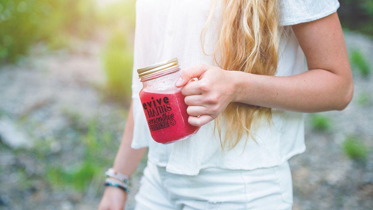Le nouveau concept santé qui va révolutionner tes matins : «les smoothies-en-cube»