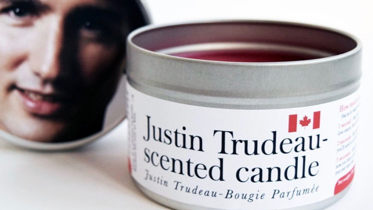 These Justin Trudeau-Scented Candles Are The Perfect Christmas Gift