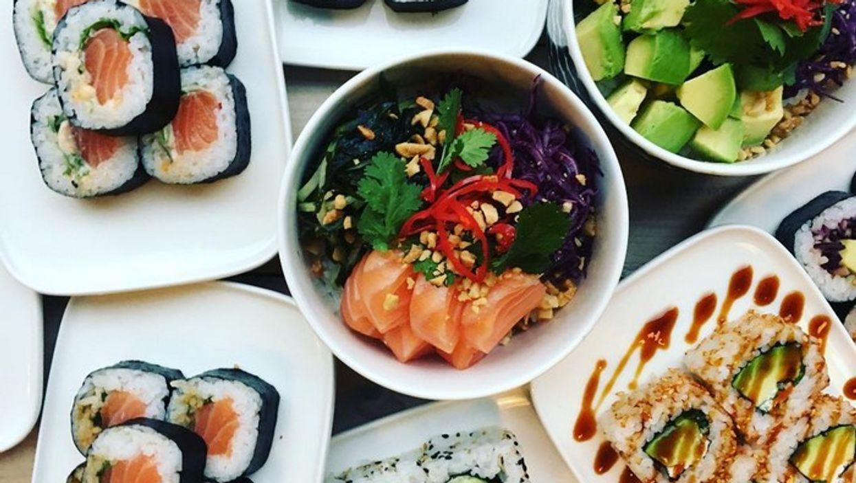 7 endroits à Québec où manger un incroyable bol de sushis