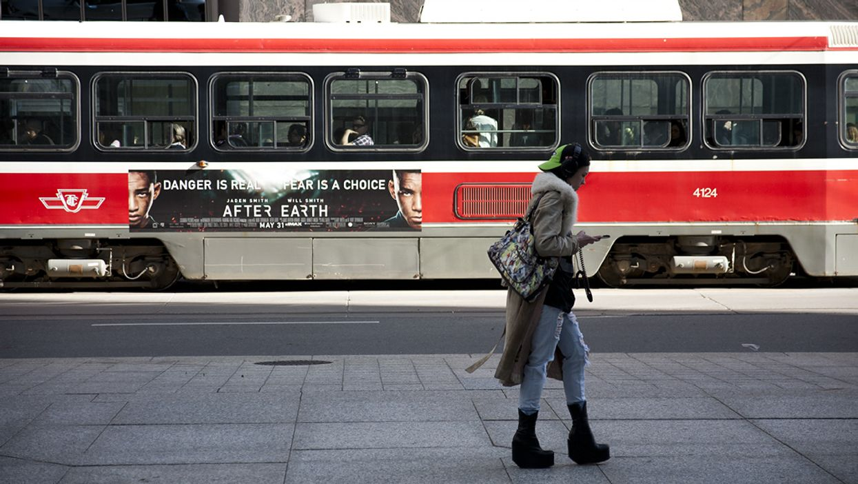 Free Phones For Torontonians Today In The City