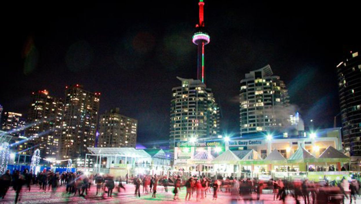 Toronto's Harbourfront Is Hosting Free Skating Dance Parties All Winter Long