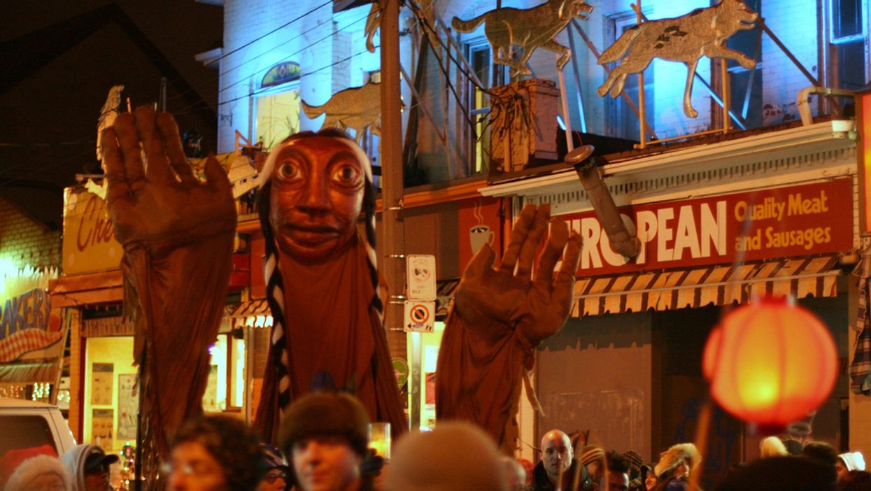 Toronto's Kensington Market Is Having Its 25th Winter Solstice Parade This Weekend