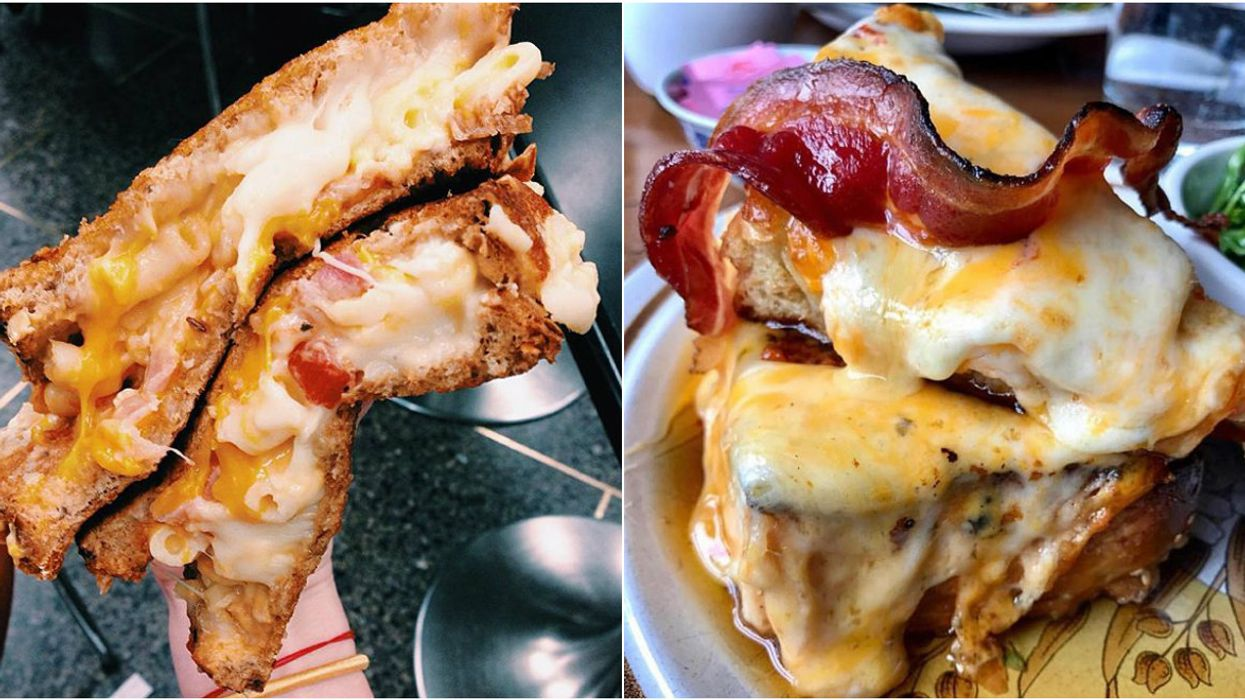 13 Toronto Restaurants With Epic Grilled Cheese Sandwiches