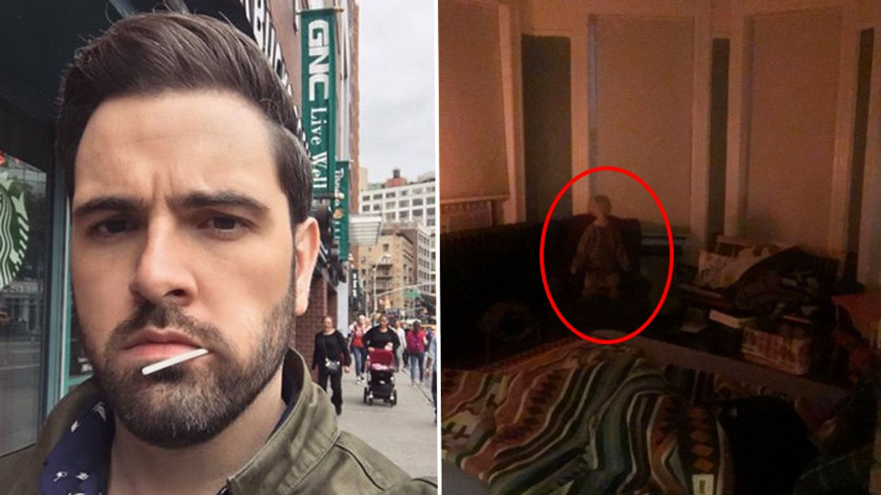 This Guy's Ghost Story Has Gone Viral And The Newest Photos Are Absolutely Terrifying