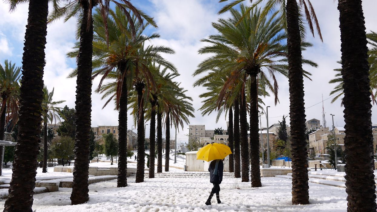 Il y a de la neige en Floride et les gens adorent ça