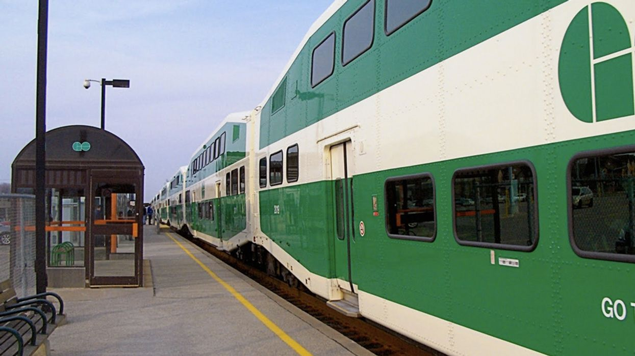 Lakeshore East GO Train Line Suspended After A Pedestrian Hit By A Train