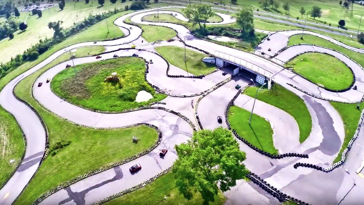 This Go-Kart Track In Ontario Is The Longest In Canada And It's Like Mario Kart In Real Life