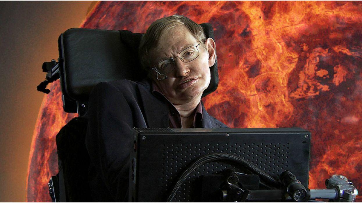 La légende Stephen Hawking laisse un message troublant à l'humanité avant de mourir
