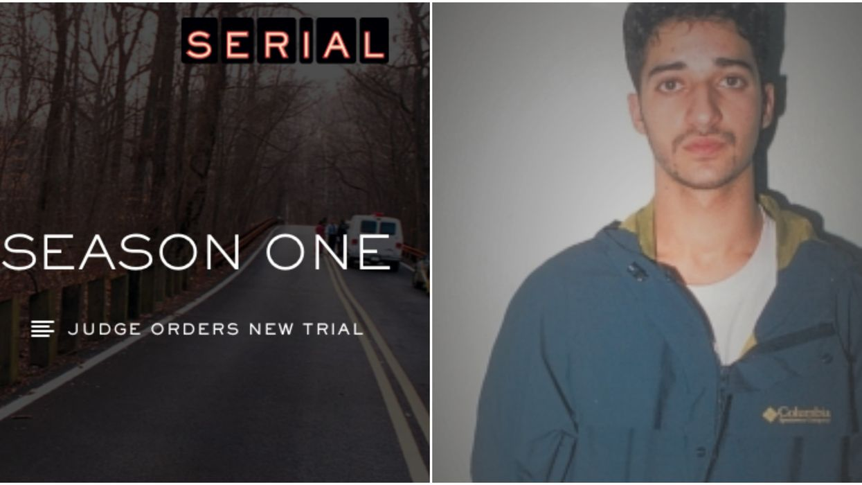 Serial Podcast's Adnan Syed Was Just Granted A New Trial After Spending 18 Years In Prison
