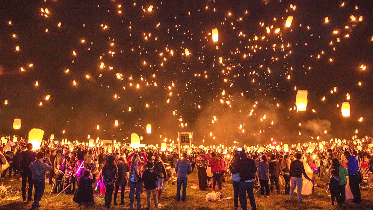A Massive Lantern Festival Is Coming To Ontario This Summer