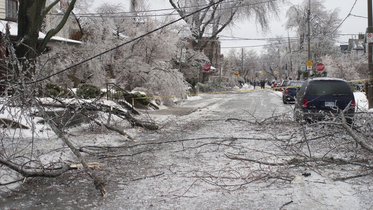11 Incredible Photos And Videos From This Weekend's Intense Ice Storm