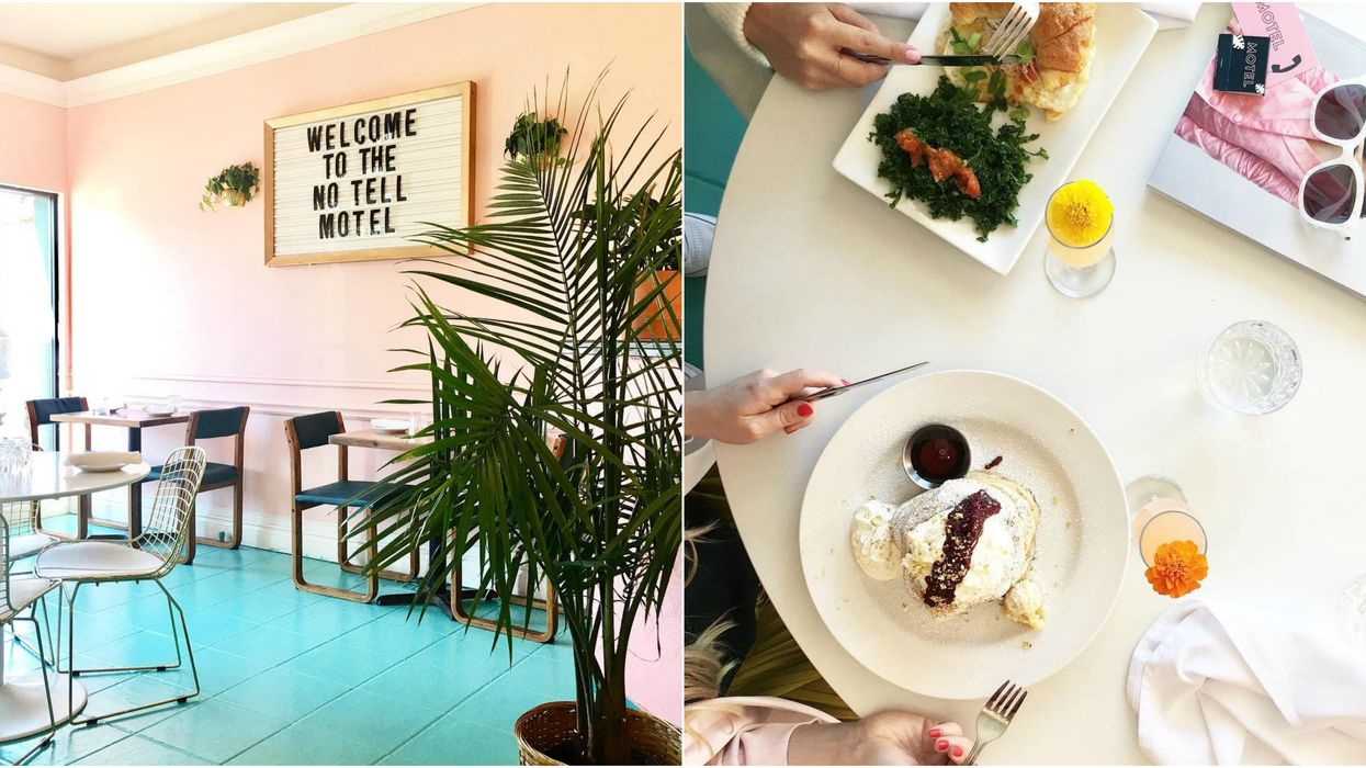 This Stunning Retro Themed Restaurant In Hamilton Serves The Most Decadent Brunch