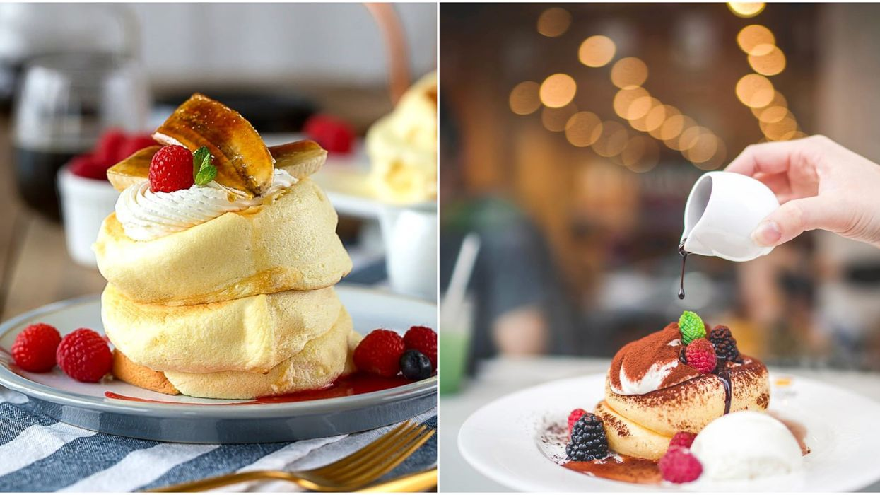 You've Got To Check Out Toronto's Newest Japanese Soufflé Pancake Cafe