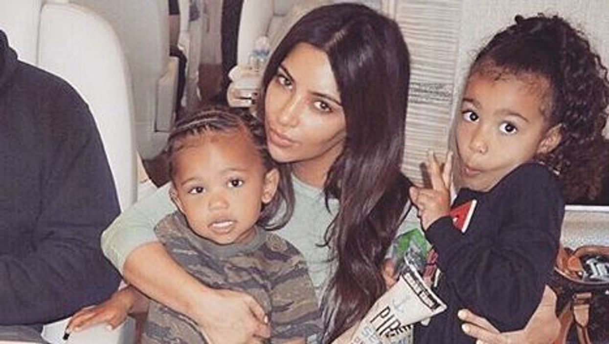 Kim Kardashian Opens Up About Being A Mom, Says She Has A Group Chat With Kylie And Khloe