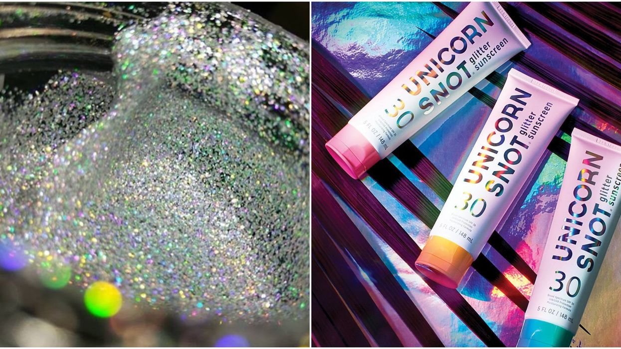 This Unicorn Snot Suncreen Is Seriously Magical AF