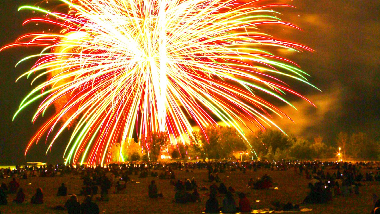 Toronto's Ashbridges Bay Will Light Up With Over 2,000 Fireworks This Victoria Day